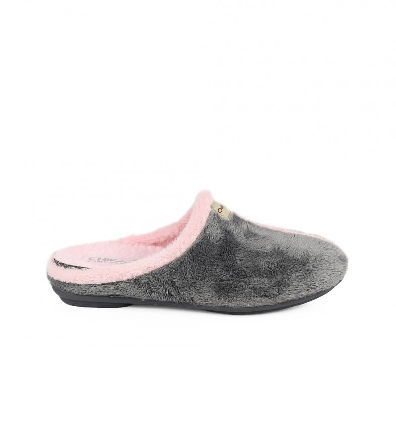 Comprar Chika10 Pantoufles pour la maison  Accueil 03 gris