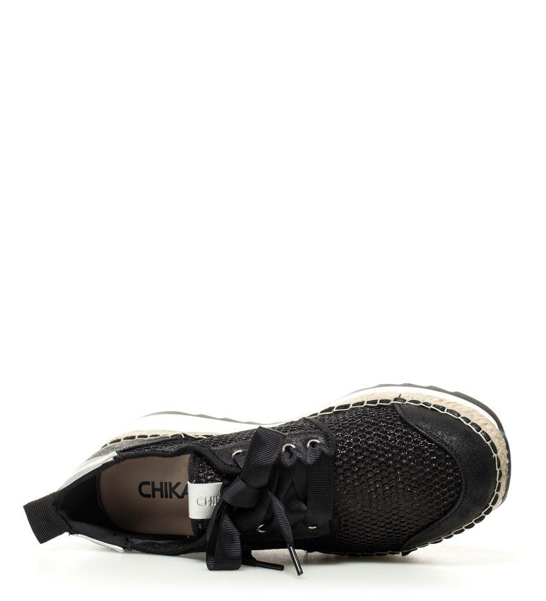 Ivy negro plataforma 06 Zapatillas Altura Chika10 5cm 60gwqt5Ogx