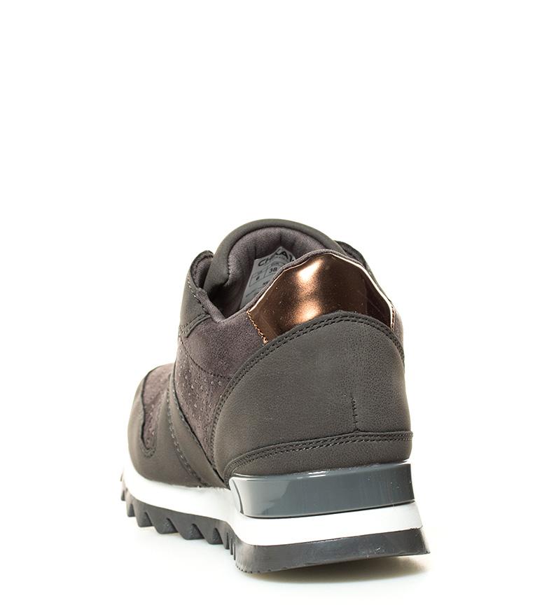 Chika10 Zapatillas New Ines 04 gris Altura cuña interna: 5cm