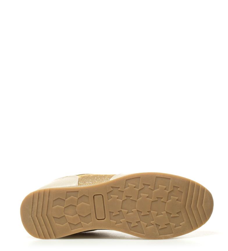 Saray 07 Chika10 Zapatillas oro New p0xSq6Uwn1