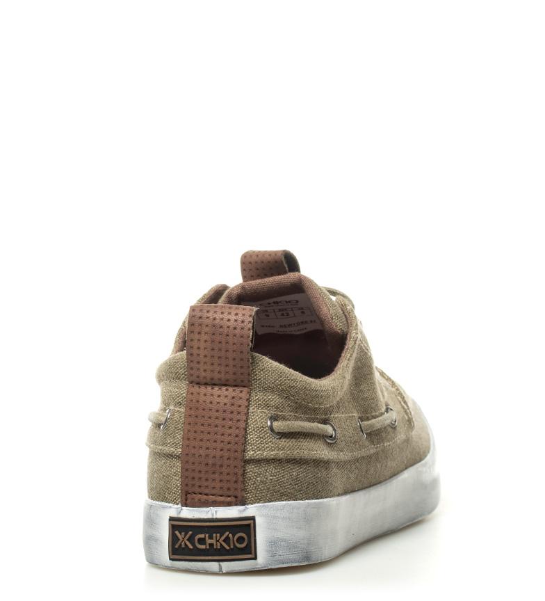 Chiko10 Zapatillas New York 04 kaki