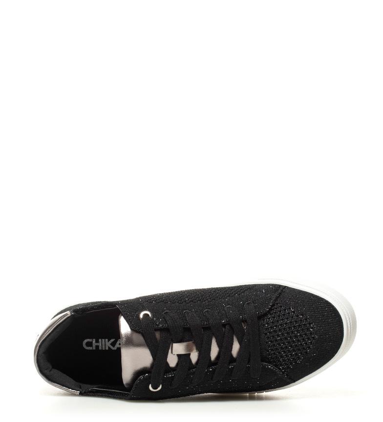 01 Ninnete Zapatillas negro negro Zapatillas Chika10 01 Ninnete Chika10 Ninnete 01 negro Zapatillas Chika10 qI4nwnCPx