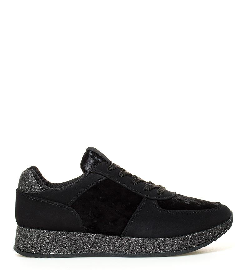 5cm Chika10 negro Zapatillas Altura Altura cuña interior Chika10 Saray interior cuña 01 negro 01 Zapatillas Saray W8ZwnXRRq