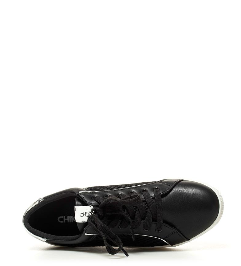 04 5cm negro plataforma Chika10 Zapatillas Altura Ula 4 w1qq4EF