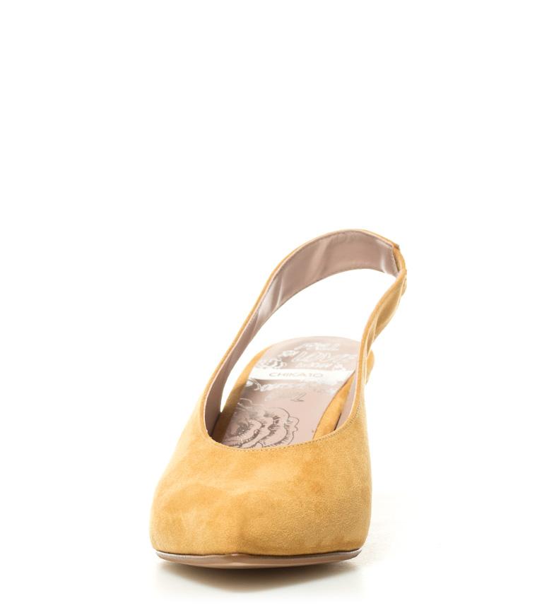 Lauper Chika10 Zapatos 02 8cm tacón Altura mostaza O858r4qw