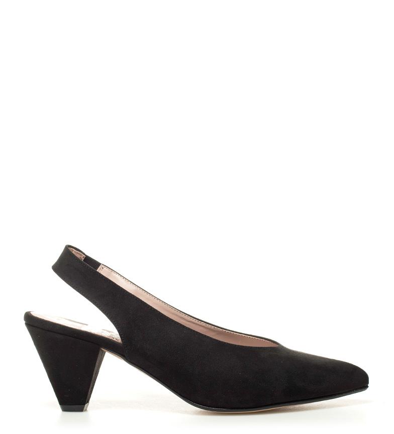 Altura Chika10 Lauper tacón Chika10 negro 02 8cm Zapatos Zapatos Pwpaq44