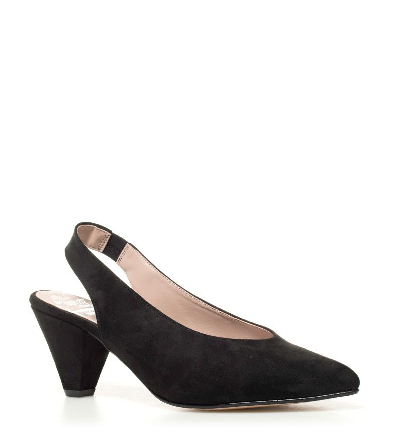 Chika10 Zapatos negro 02 8cm tacón Lauper Altura SSdqzra