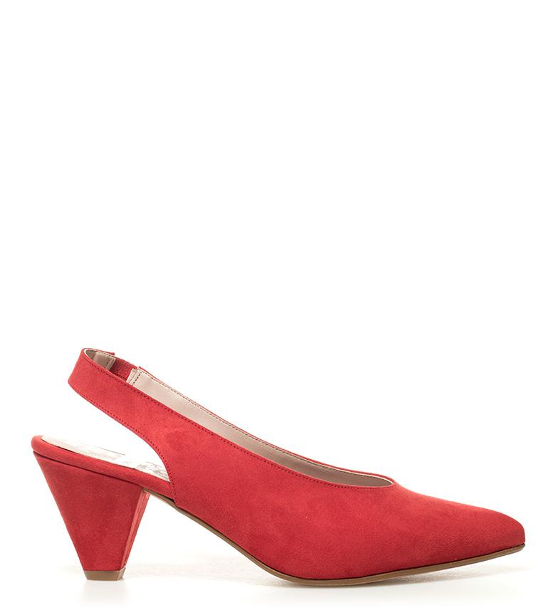 Chika10 Zapatos Lauper 02 rojo Altura tacón: 8cm