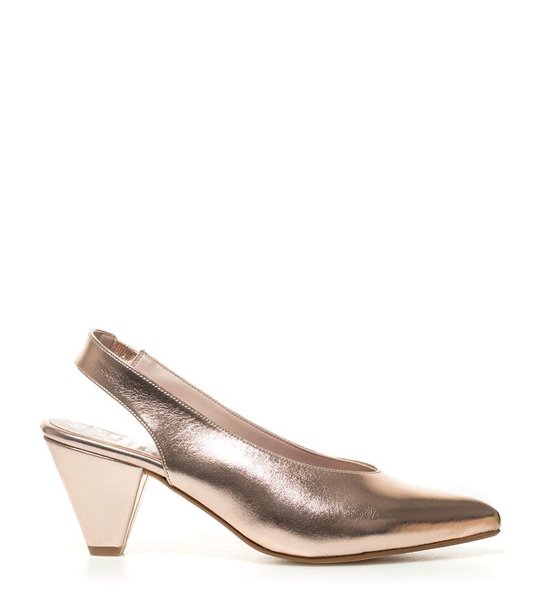 Chika10 Altura 02 Zapatos tacón metal 8cm rosa Lauper aaOpqwC