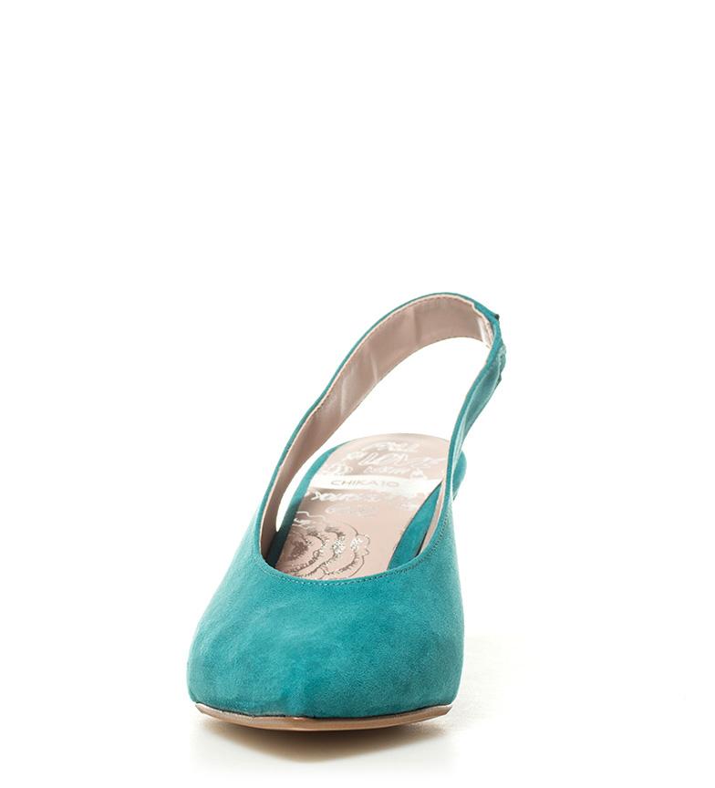8cm Altura Lauper Zapatos turquesa tacón Chika10 02 Hxf7aqwx8