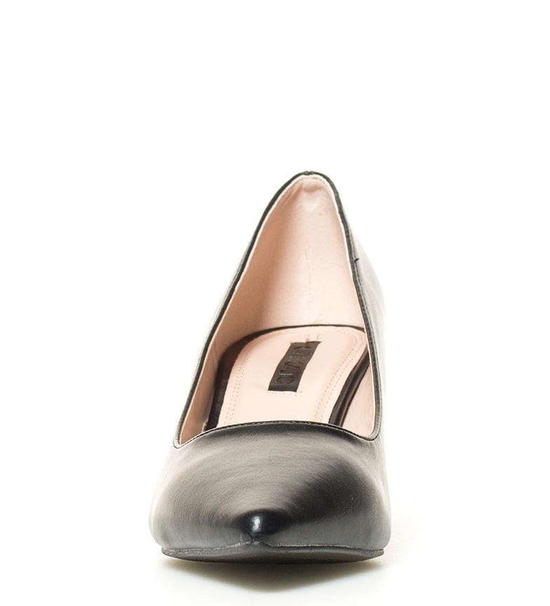 Chika10 02 tacón br negro Liv br Zapatos 6cm Altura TqwrTzH