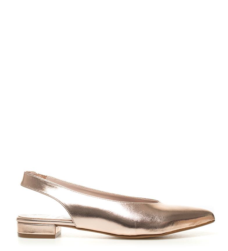 Chika10 - Zapatos Lorena 01 plata metal 4mNptLLHN