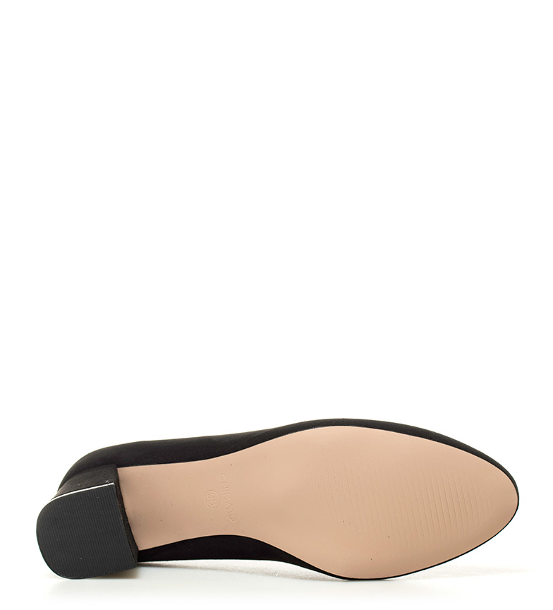 01 tacón Altura Zapatos 5 Chika10 5cm Naia negro BX8ZxEq