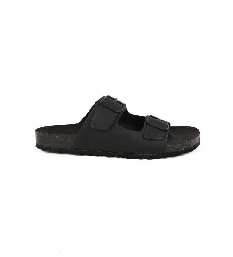 Comprar Chiko10 Cannes leather sandals 01 black
