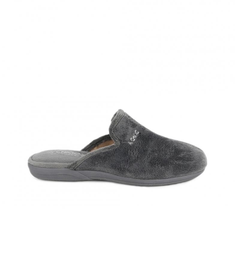Comprar Chiko10 Pantofole da casa  Uomo di casa 01 grigio