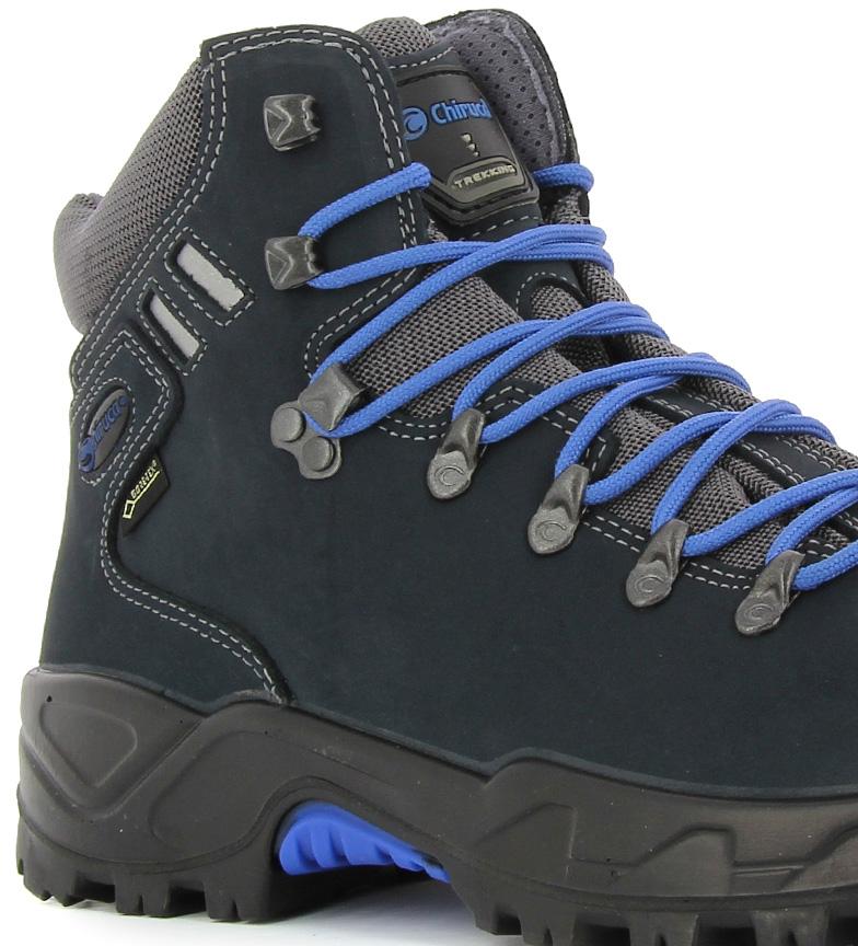 Chiruca Botas de piel hidrofugada Somiedo Gore Tex azul 673g