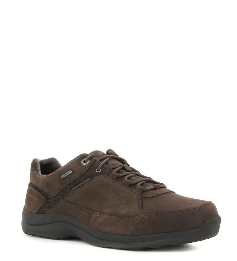 Chiruca Zapatillas de piel hidrofugada Gales Gore Tex marrón 433g