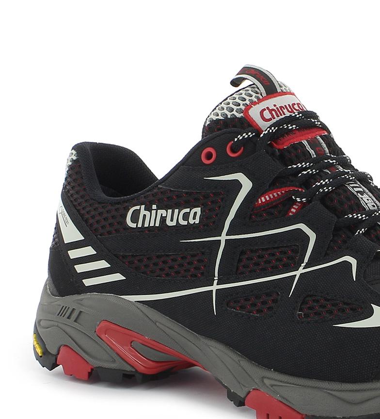 Tex 367g Zapatillas trail Spider negro running Chiruca Gore rojo qXOwWRwf