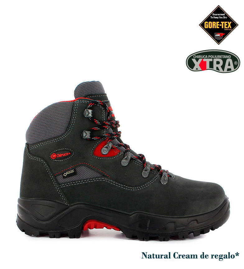 Comprar Chiruca Boots of hydrofuged leather Mulhacen Gore-Tex gray -583g-
