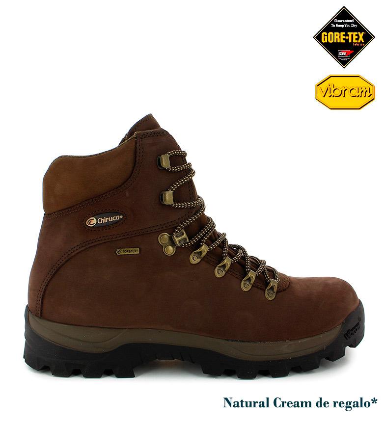 Comprar Chiruca Bottes en cuir imperméable Urales Gore-Tex brun -680g-
