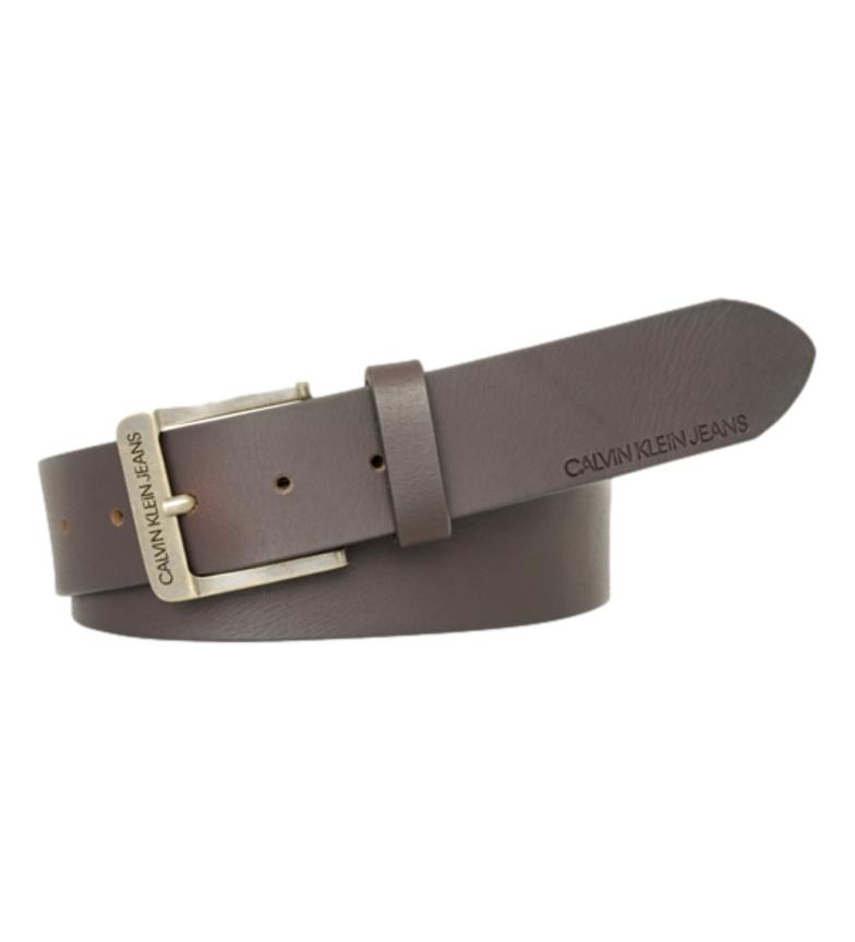 Comprar Calvin Klein Cinturón de piel Formal  Belt marrón -ancho 4cm-