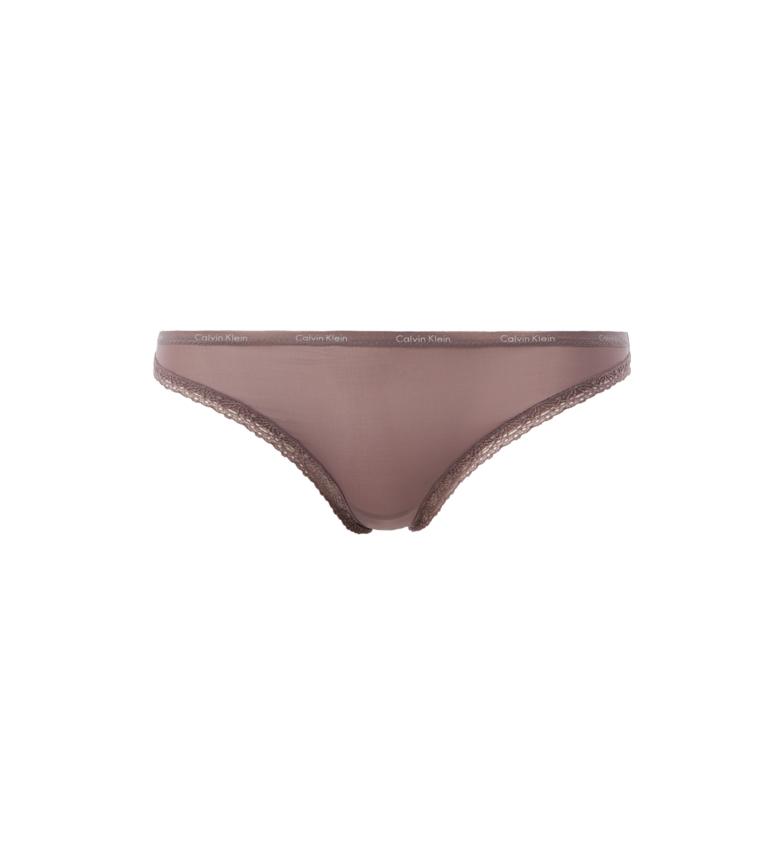 Comprar Calvin Klein Slip bikini marroni