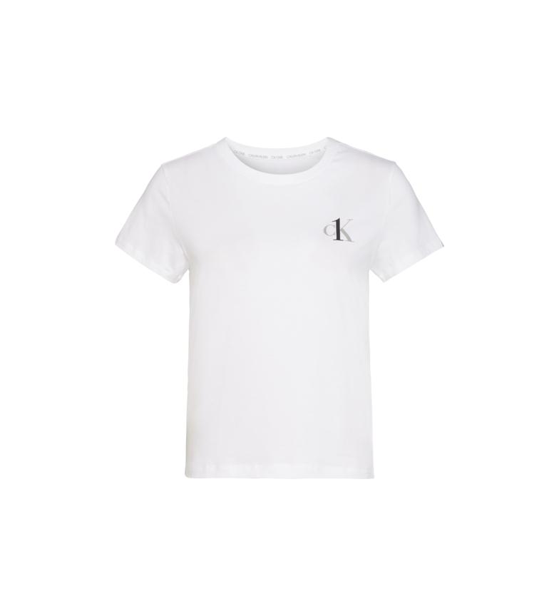 Comprar Calvin Klein T-shirt girocollo bianca a maniche corte