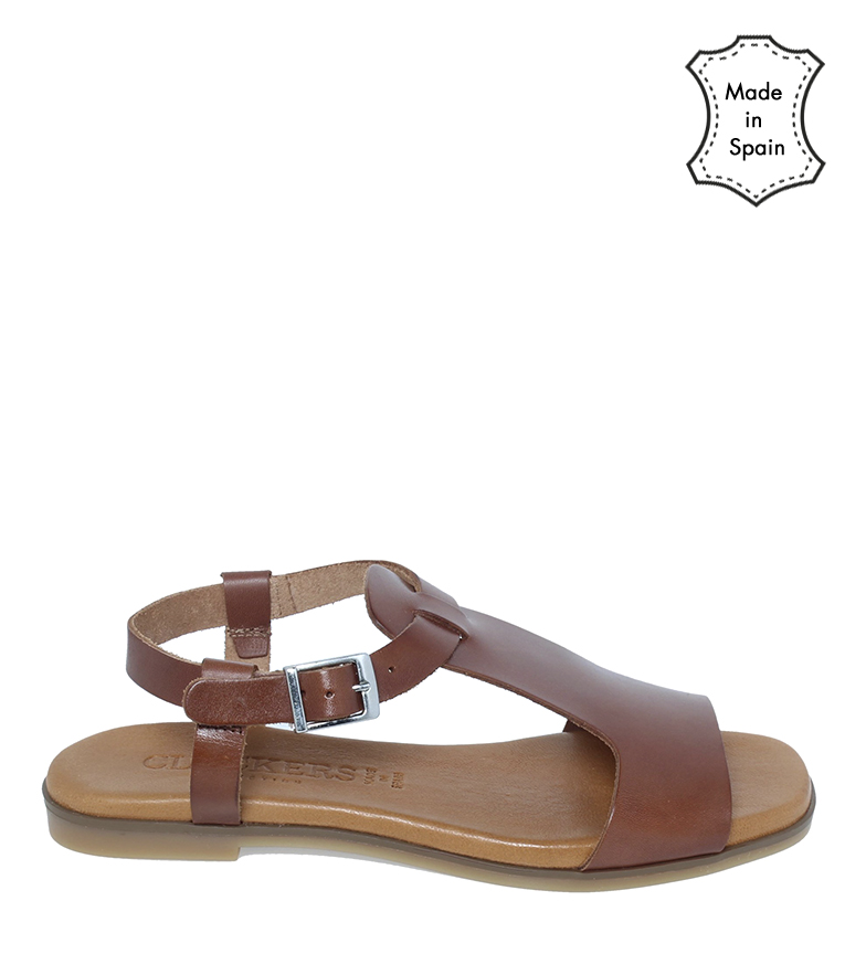 Comprar Clackers Leather sandals 20060 hazelnut