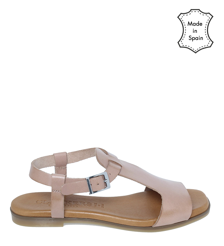 Comprar Clackers Leather sandals 20060 nude