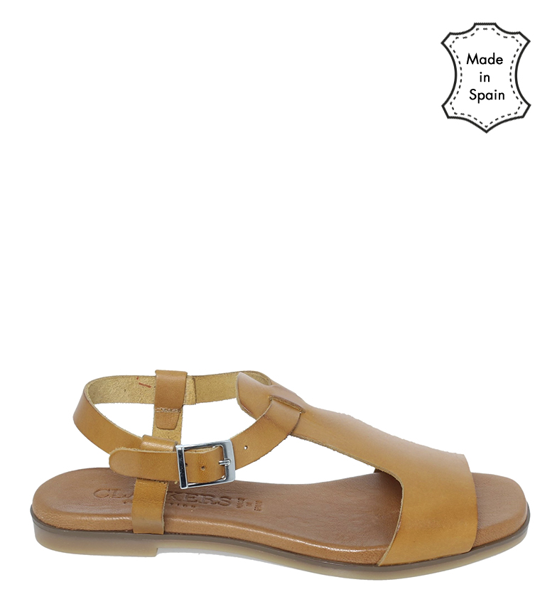 Comprar Clackers Leather sandals 20060 yellow
