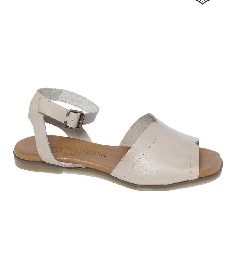 Comprar Clackers Sandalias de piel 20061 crema