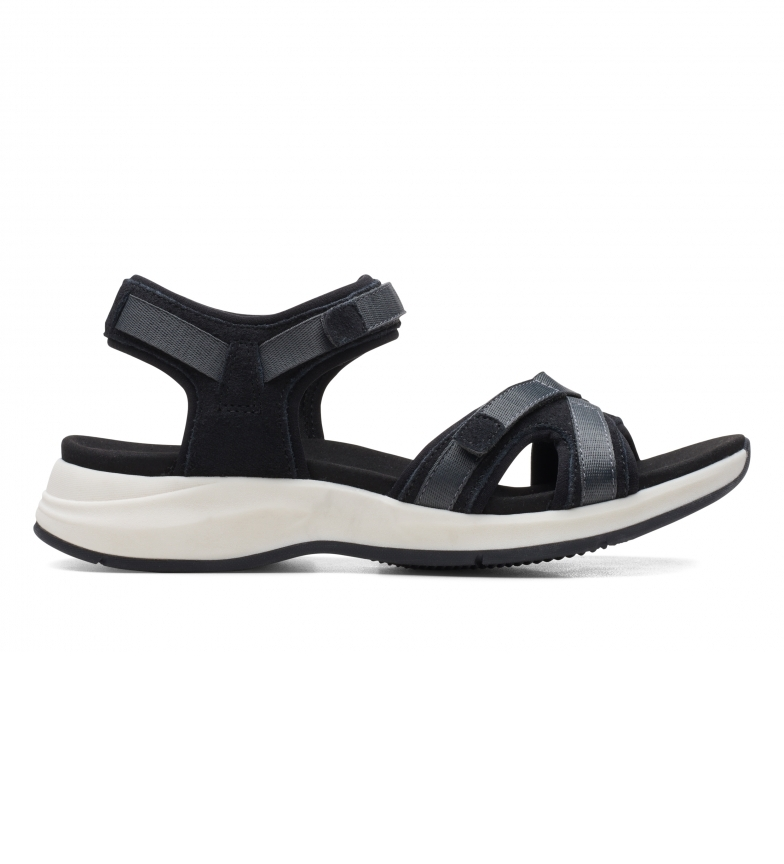 Comprar Clarks Sandales en cuir Solan Drift noir
