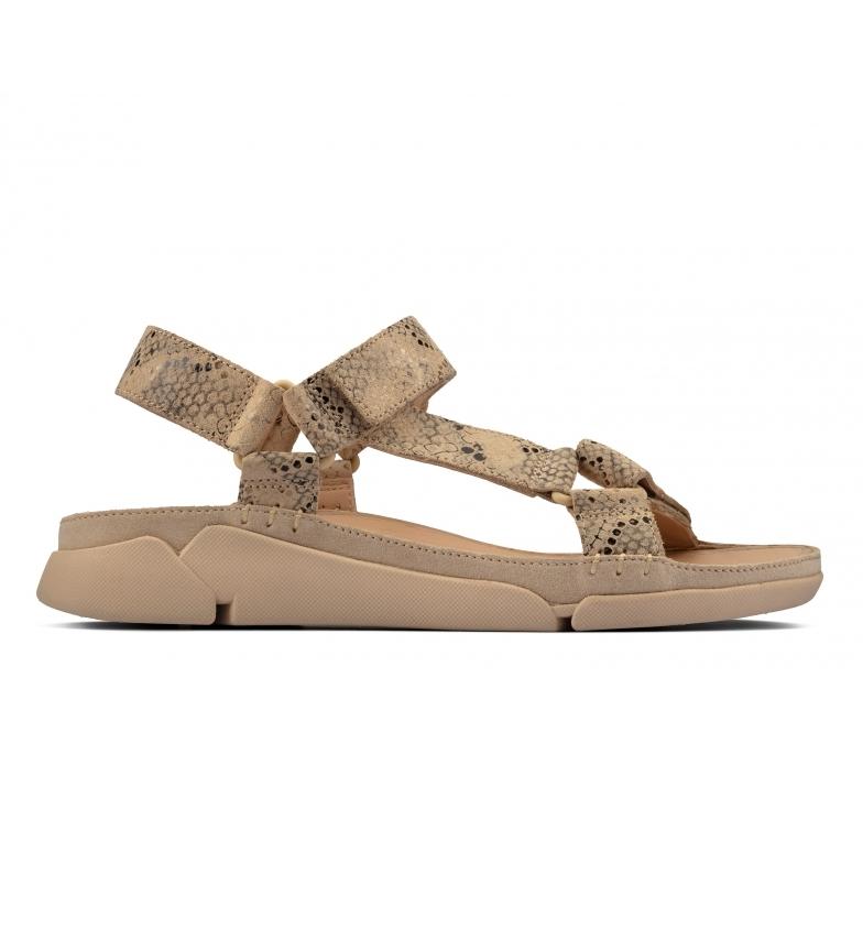 Comprar Clarks Tri Sporty beige leather sandals
