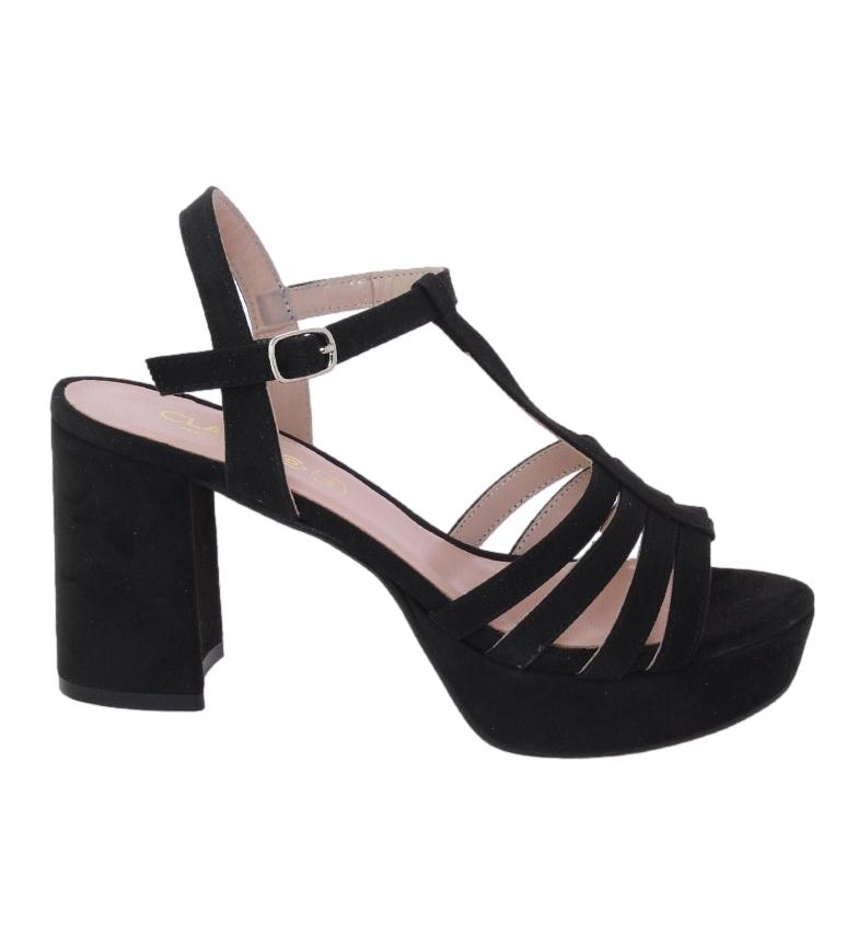 Comprar CLASSYCO Sandalia Ana negro -Altura tacón: 8.5cm-