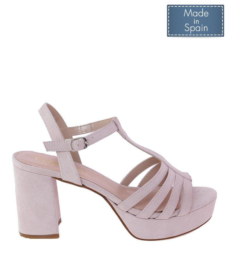 Comprar CLASSYCO Sandale Ana nude -Hauteur du talon : 8.5cm