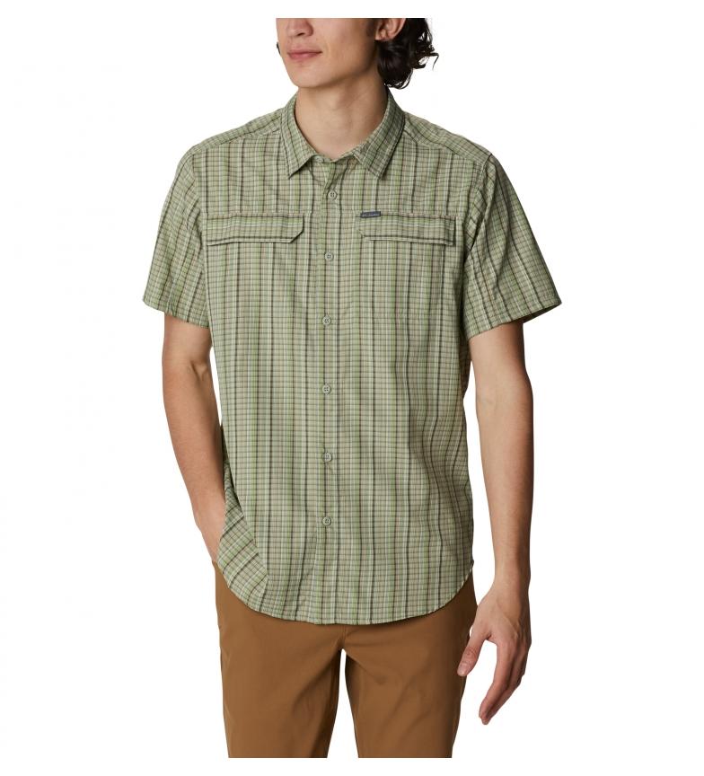 Comprar Columbia Camicia a quadri Silver Ridge 2.0 verde
