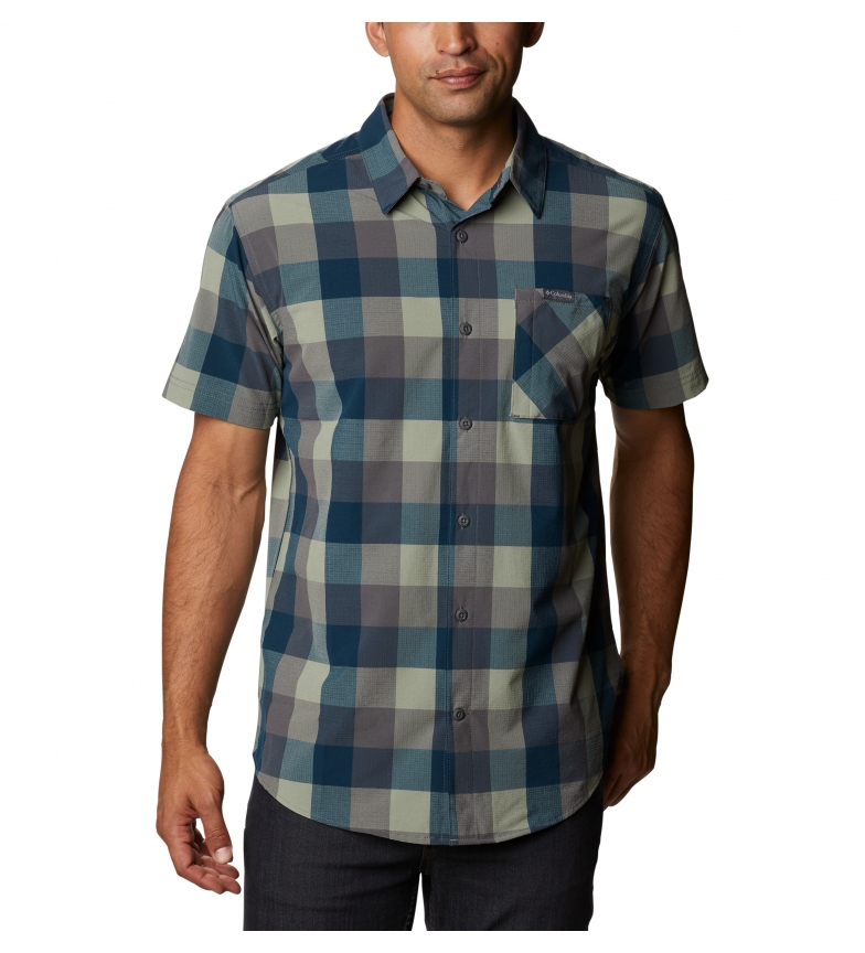 Comprar Columbia Camicia a quadretti Triple Canyon blu