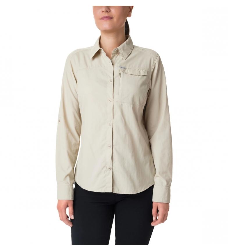Comprar Columbia Camicia a maniche lunghe Silver Ridge 2.0 beige