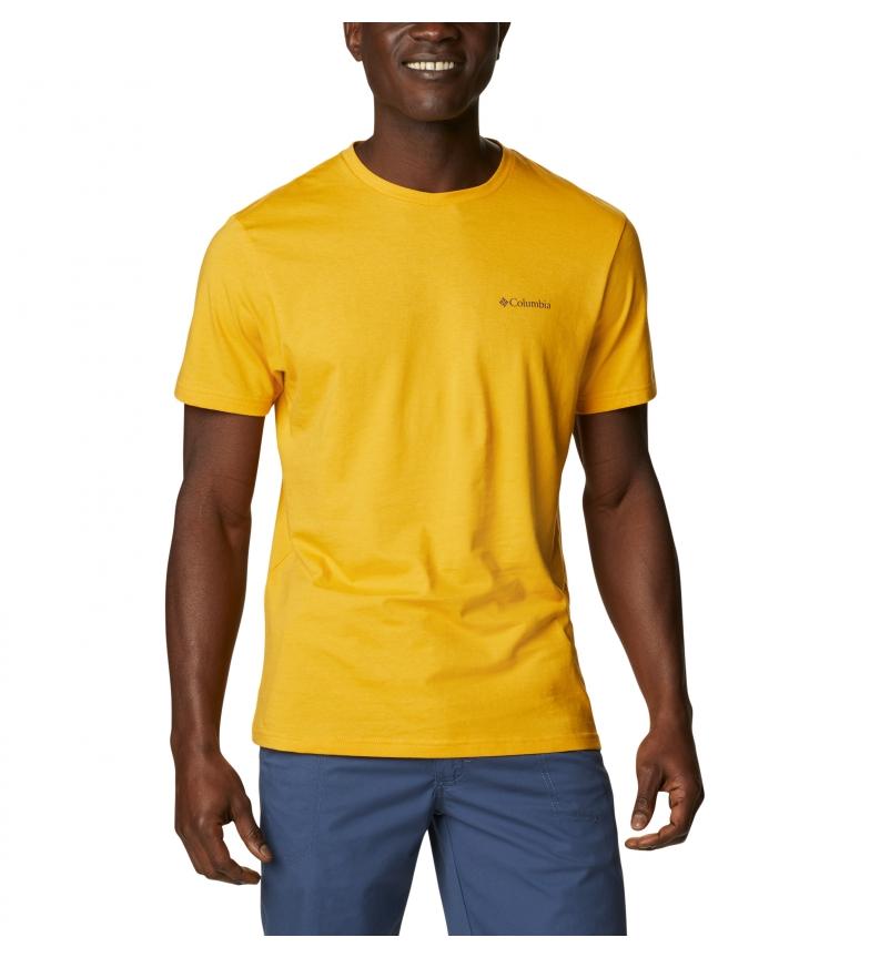 Comprar Columbia CSC Basic Logo T-shirt yellow