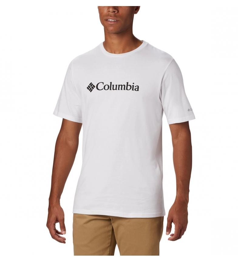 Comprar Columbia T-shirt de manga curta branca com o logótipo CSC Basic