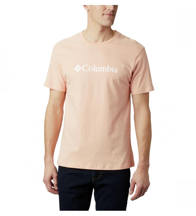 Comprar Columbia Maglietta in corallo a maniche corte con logo CSC Basic Basic