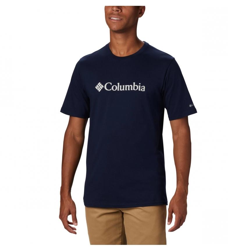 Comprar Columbia Camiseta de Manga Curta Marinha Logotipo CSC Basic