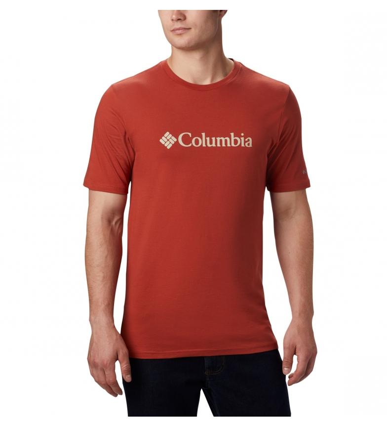 Comprar Columbia T-shirt de manga curta vermelha com o logótipo CSC Basic