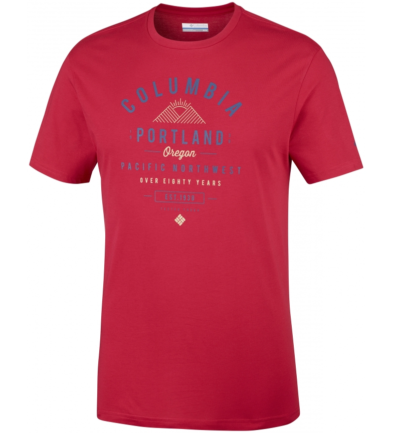 Comprar Columbia T-shirt Leathan Trail red