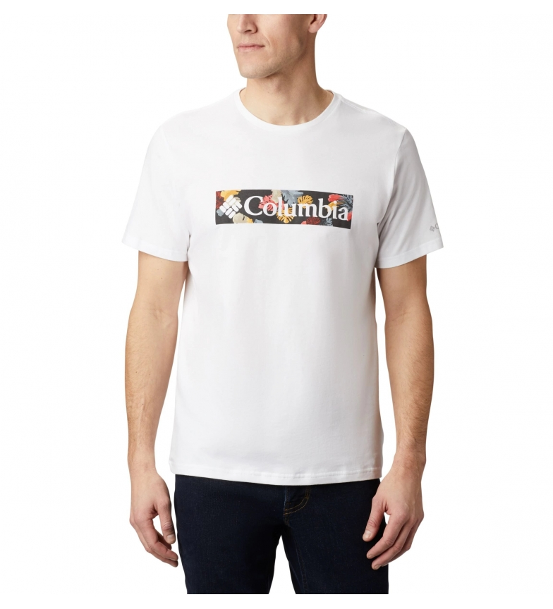 Comprar Columbia T-shirt M Rapid Ridge Graphic Tee blanc