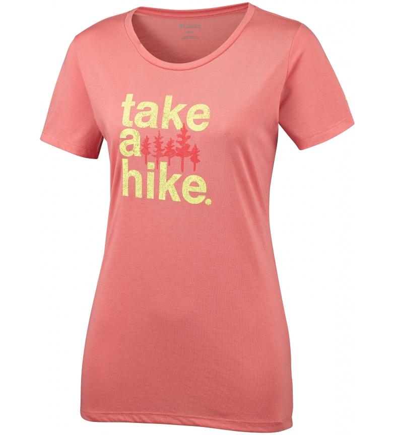 Comprar Columbia Camiseta Outdoor Elements III coral