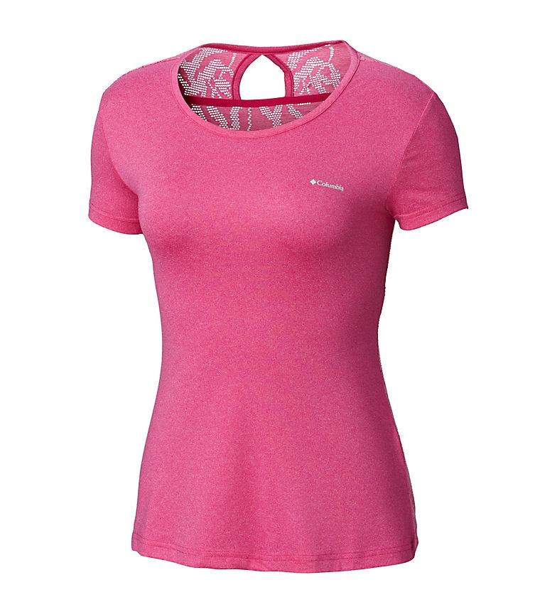 Comprar Columbia Peak to Point T-shirt pink