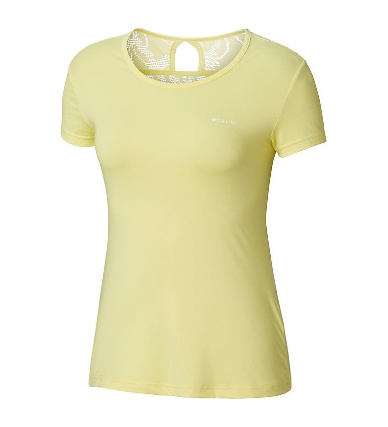 Comprar Columbia Camiseta Peak to Point amarillo