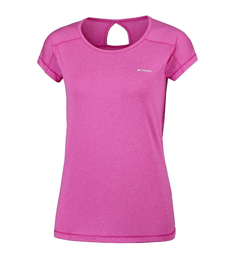 Comprar Columbia T-Shirt da punta a punta fucsia