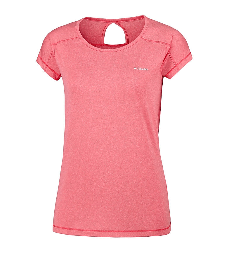 Comprar Columbia T-shirt di corallo punta a punta